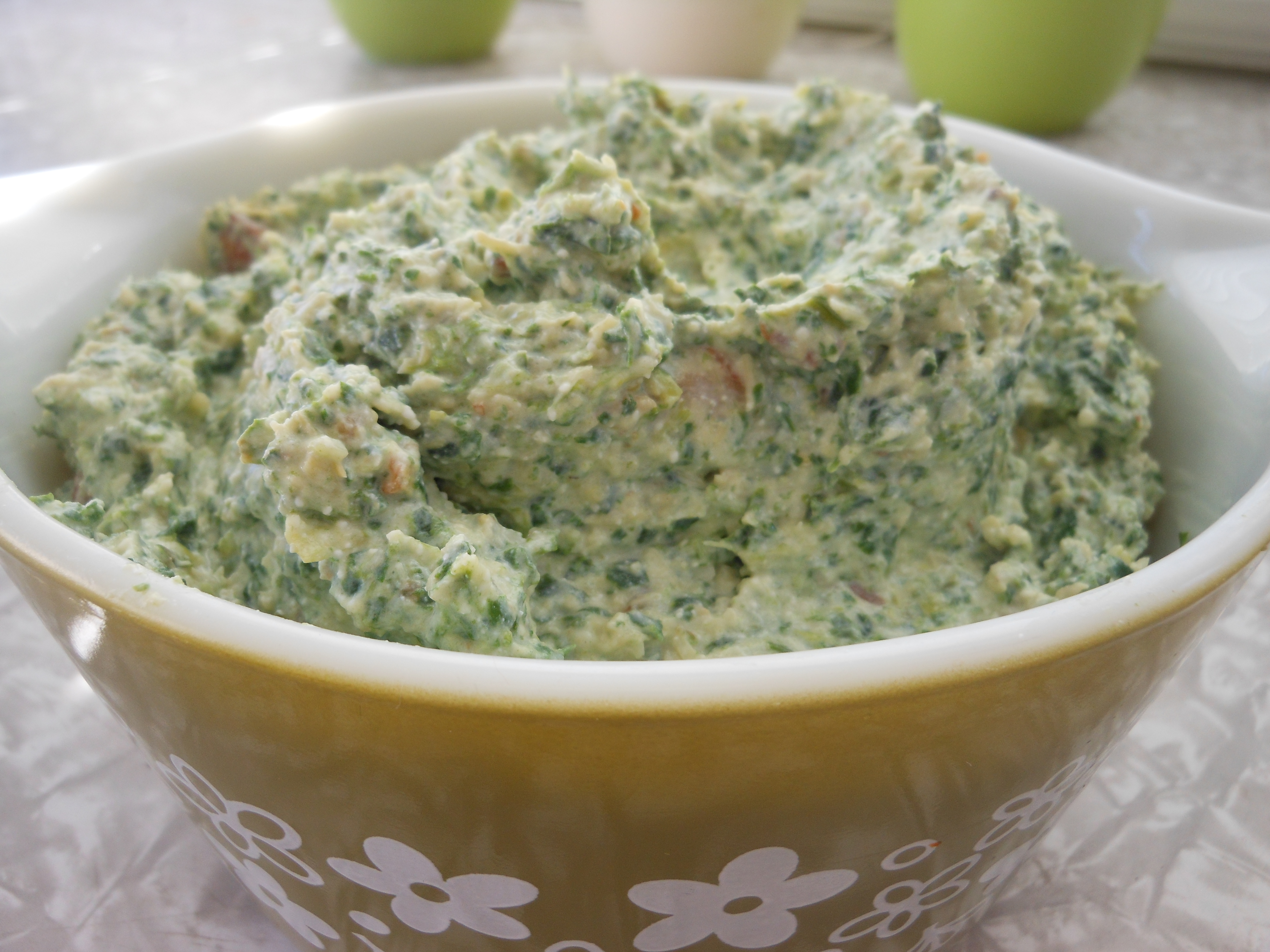 Wonderful Food: Spinach Artichoke Cottage Cheese Dip ...